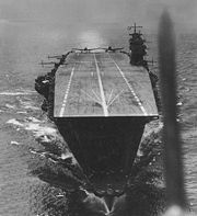 Akagi, the flagship of the Japanese carrier striking force which attacked Pearl Harbor, as well as Darwin, Rabaul, and Colombo, in April 1942 prior to the battle