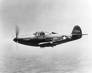 Warbird Picture - USAAF P-39F-1BE 41-7224 c/n 15-563 (7224 to RFC at Ponca City, OK, 12 December 1944)