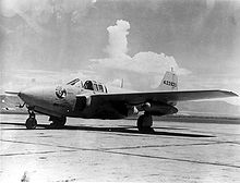 Airplane Picture - Bell P-59B Airacomet 3/4 front view of Reluctant Robot.