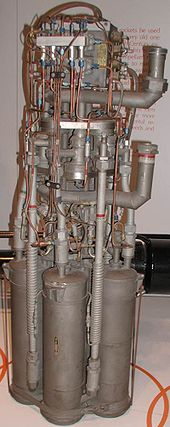 Airplane Picture - XLR-11 rocket engine