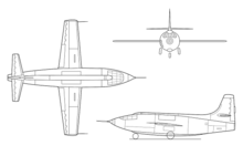 Airplane Picture - Three view diagram
