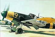 Airplane Pictures - Finnish Bf 109G-2 at Malmi Airport in 1943