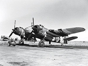 Warbird Picture - Bristol Beaufighter, armed with rockets