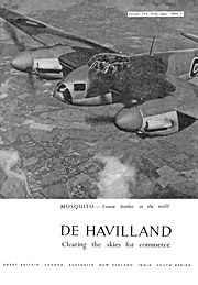 Airplane Pictures - A 1943 advertisement for de Havilland taken from Flight & Aircraft Engineer magazine