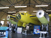 Airplane Pictures - The first prototype to fly (E-0234 later W4050) being restored at the de Havilland Aircraft Heritage Centre near St Albans.