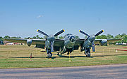 Airplane Pictures - Mosquito B Mk 35 (RS712) at the AirVenture Museum, Oshkosh, Wisconsin