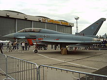 Airplane Picture - A Luftwaffe twin-seat trainer version of the Eurofighter
