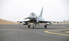 Airplane Picture - A Saudi Eurofighter Typhoon at Taif Air base
