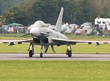 Airplane Picture - Spanish Eurofighter Typhoon