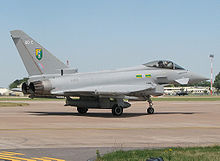 Airplane Picture - Eurofighter Typhoon F2, RAF single-seat fighter variant