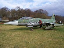 Luftwaffe F-104G at Lasham
