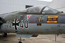 F-104G 22+40 at Le Bourget Museum, France