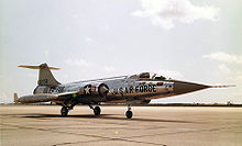 Airplane picture: Lockheed F-104A-10-LO