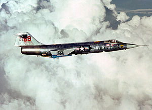Airplane picture - A Fokker-built, German-owned F-104G in USAF markings in August 1979