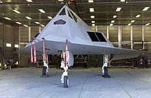 Airplane Picture - F-117A painted in