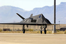 Airplane Picture - F-117 taxiing.