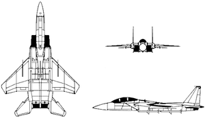 Airplane picture - F-15 Drawing
