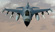 Airplane Pictures - USAF F-16C