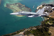 Airplane Pictures - Canadian CF-18A Hornet off the coast of Hawaii. Note the false cockpit painted on the underside of the aircraft, intended to confuse enemy pilots during dogfights
