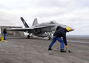 Airplane Pictures - U.S. Navy F/A-18C from VFA-131 launches from French aircraft carrier Charles de Gaulle off the Virginia Capes