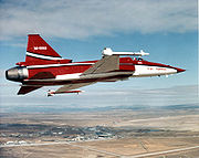Airplane picture - The first F-20 in Northrop colors