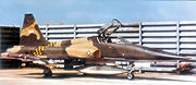 Airplane picture - VNAF F-5C Bien Hoa Air Base, 1971