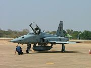 Airplane picture - Thai F-5T Tigris upgrade with new avionics and DASH helmet