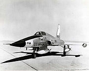 Airplane picture - The Northrop YF-5A (first prototype aircraft)