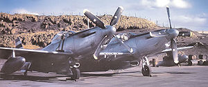 Airplane Pictures - One of four F-82Es deployed by the 27th Fighter Escort Wing to Adak Island, Aleutians in December 1948 to assist in the transition of the 449th Fighter (All-Weather) Squadron from P-61 Black Widows to the Twin Mustang