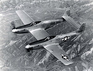 Airplane Pictures - XP-82 prototype