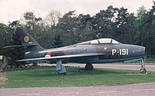 Airplane picture - Royal Netherlands Air Force F-84F