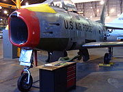 Airplane Pictures - F-86H s/n 53-1308, Restorations, Wings Museum, Denver, CO.