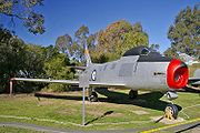 Airplane Pictures - CAC Sabre Mk 32 at the Wagga Wagga RAAF Museum
