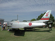 Airplane Pictures - Japanese F-86F Sabre
