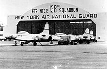 Airplane Picture - F-94B, 138 FIS New York ANG