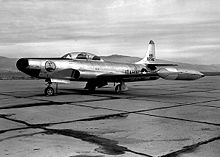 Airplane Picture - F-94A of the Idaho ANG