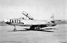 Airplane Picture - YF-94 prototype