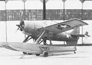 Airplane Pictures - The Grumman F4F-3S Wildcatfish, a floatplane version of the F4F-3. Edo Aircraft fitted one F4F-3 with twin floats