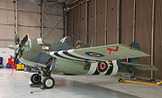 Airplane Pictures - A Grumman Martlet/Wildcat preserved at the Imperial War Museum Duxford
