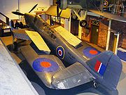 Fairey Fulmar at the Fleet Air Arm Museum