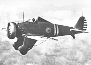 Airplane Pictures - An early monoplane fighter- the Boeing P-26 Peashooter which first flew in 1932