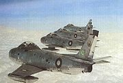Airplane Pictures - F-86 Sabres of the Pakistan Air Force