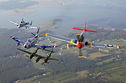 Airplane Pictures - Air Force Heritage Flight