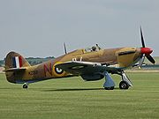 Warbird picture - Hawker Hurricane Mk IV KZ321 (The Fighter Collection)