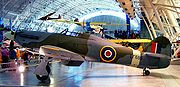 Warbird picture - A Hawker Hurricane on display at the National Air and Space Museum of the Smithsonian Institution