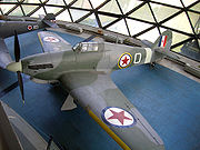 Warbird picture - Hawker Hurricane Mk IVRP with Yugoslav Air Force markings, Museum of Aviation in Belgrade, Belgrade, Serbia
