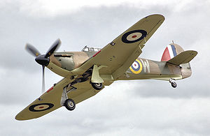 Warbirdd picture - Airplane picture - Hurricane Mk I (R4118), a Hurricane from the 1940 Battle of Britain, still flying