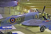 Warbird picture - Hawker Tempest II, RAF Museum, Hendon.
