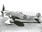 Warbird picture - Tempest V prototype HM595.