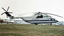 Airplane Picture - Aeroflot marked Mi-26 at the 1984 Farnborough Air Show
